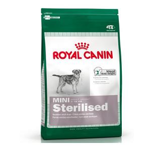 croquettes royal canin mini sterilised pour chien. Black Bedroom Furniture Sets. Home Design Ideas